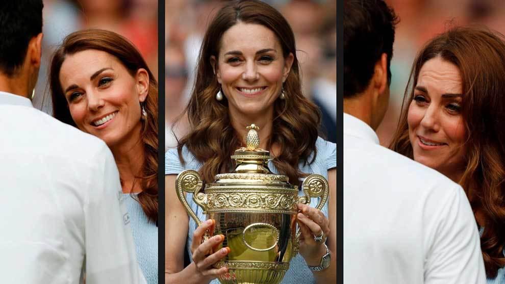 Kate Middleton, Duquesa de Cambridge, fue protagonistas en The All...