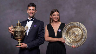 Djokovic and Halep