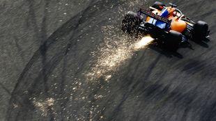 Carlos Sainz está exprimiendo su McLaren esta temporada, sobre todo...