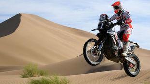 Oriol Mena, mejor español en la general de motos.