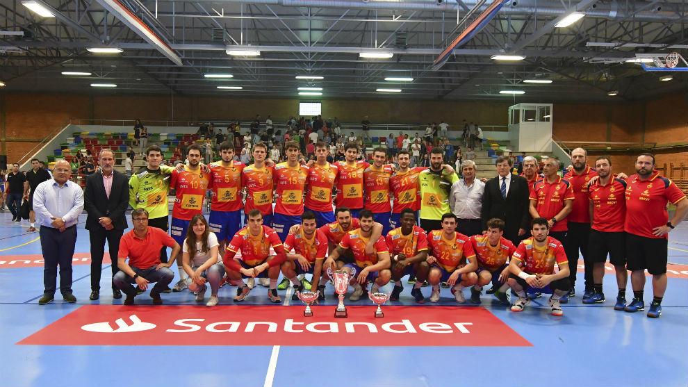 La selección española que jugará el Mundial Júnior