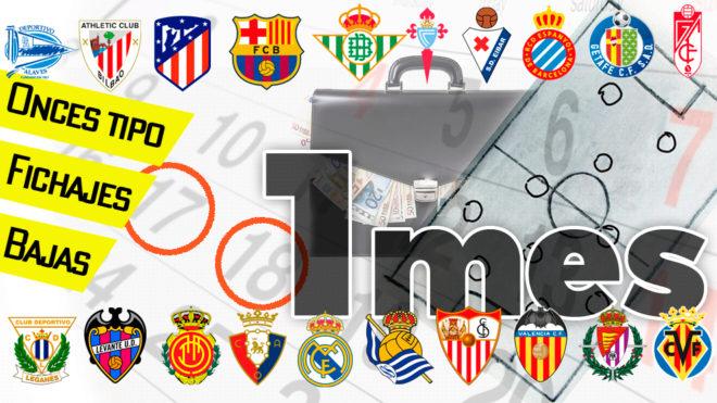 Fichajes Primera División: Altas, bajas y movimientos de los equipos...