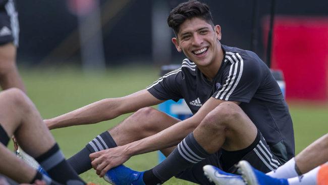 Su primer partido sería ante Hirving Lozano y Erick Gutiérrez