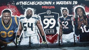 Donald, Wagner, Mack y Hopkins son los rating 99 en el nuevo Madden.