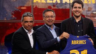 Albert Soler, Jordi Bartomeu y Álex Abrines