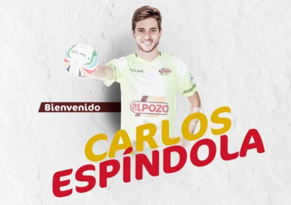 ElPozo Murcia anuncia el fichaje de Carlos Espíndola (26).