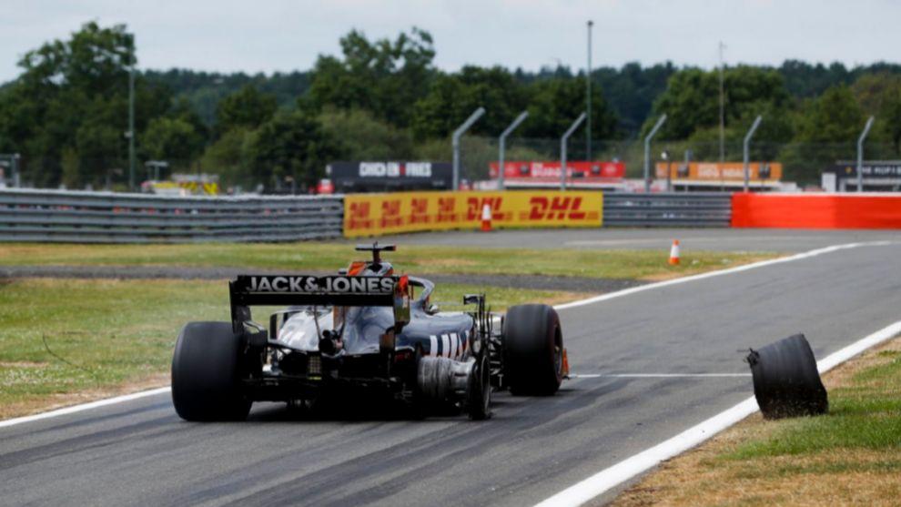 Haas en Silverstone.