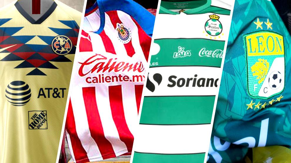 Los uniformes de la Liga MX para el Apertura 2019