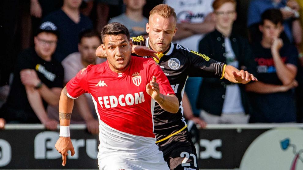 Rony Lopes playing for Monaco last season.