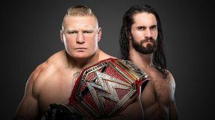 Brock Lesnar vs Seth Rollins en SummerSlam.