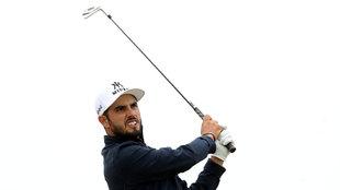 Abraham Ancer en el Lahinch Golf Club de Irlanda