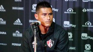 Osvaldo Martínez se dijo orgulloso de ser el capitán.