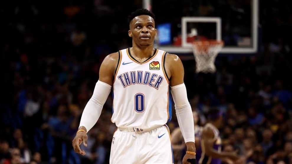Russell Westbrook llega a Houston