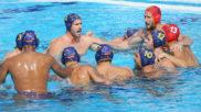 La selección española, antes del inicio del encuentro.