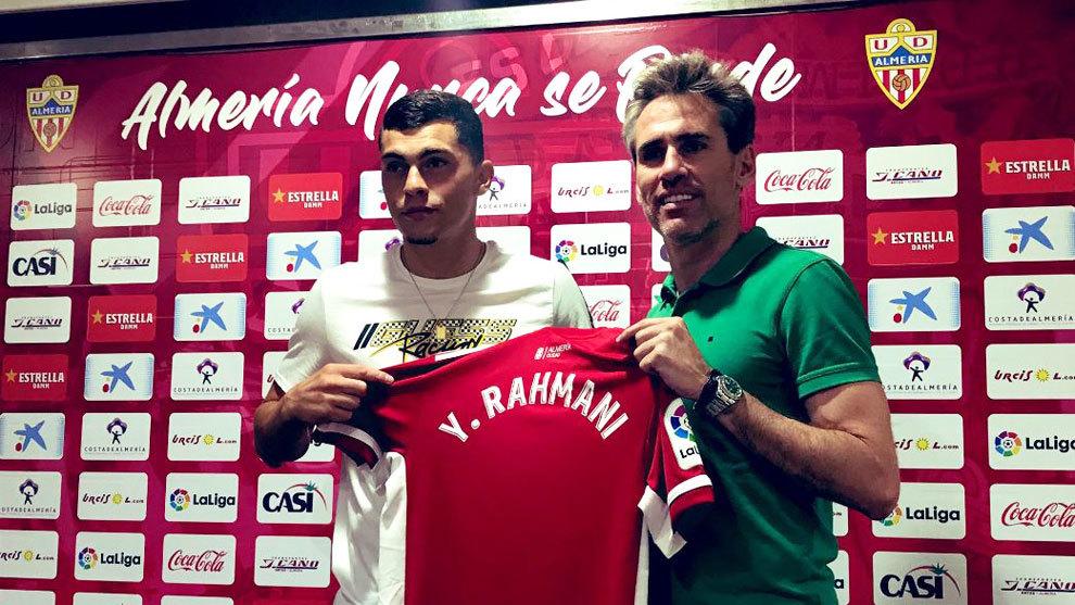 Yanis Rahmani, presentado como nuevo jugador rojiblanco.
