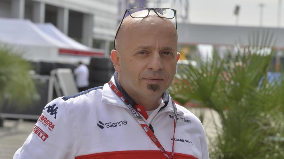 Simone Resta en Alfa Romeo.