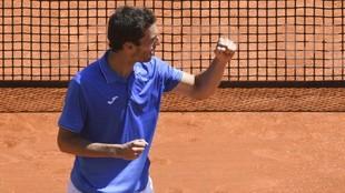 Albert Ramos celebra un triunfo