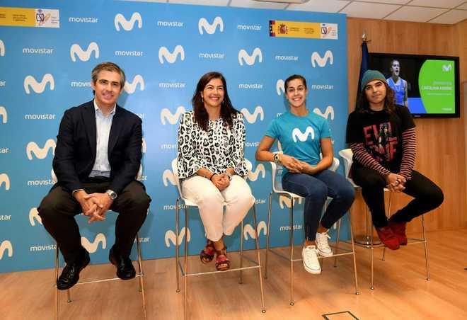 De drcha. a izda: Rafael Fernández de Alarcón, director de Marca,...