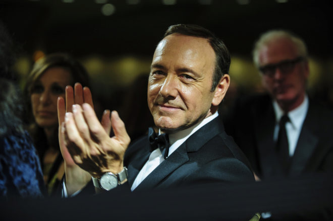 Retiran los cargos de agresión sexual contra Kevin Spacey