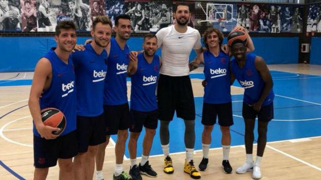 Sergi Roberto, Rakitic, Busquets, Jordi Alba, Griezmann y Dembelé...