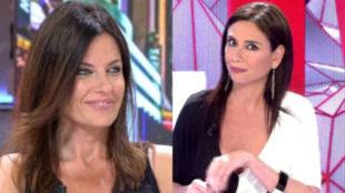 El encontronazo de Cristina Seguí y Marta Flich en el baño de...
