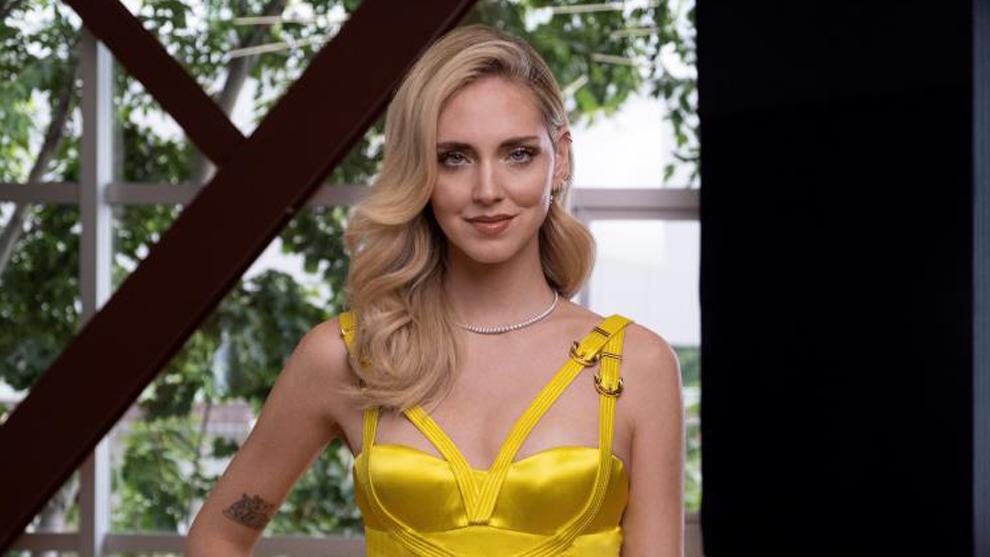 La modelo Chiara Ferragni