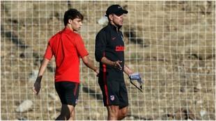 Simeone and Joao Felix