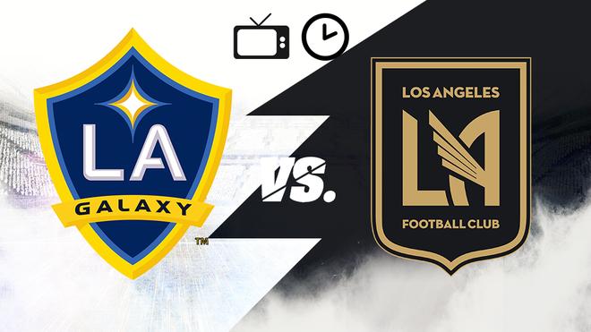 LA Galaxy vs Los Angeles FC: Horario y dónde ver