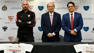 José Castro y Ramón Rodríguez Verdejo 'Monchi