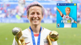 Megan Rapinoe ha sido la estrella del pasado Mundial