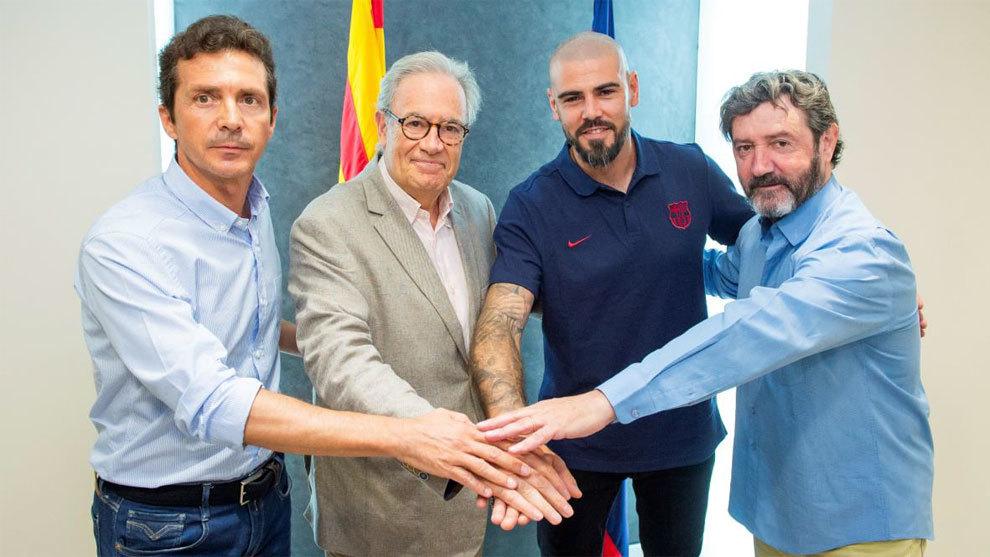 Amor, Silvio Elias, Valdes and Bakero.