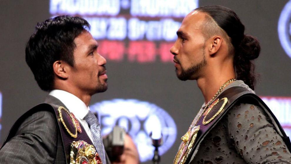 Manny Pacquiao vs Keith Thurman: hora y dónde ver en directo