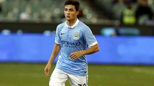 Manu García, een un partido con el City