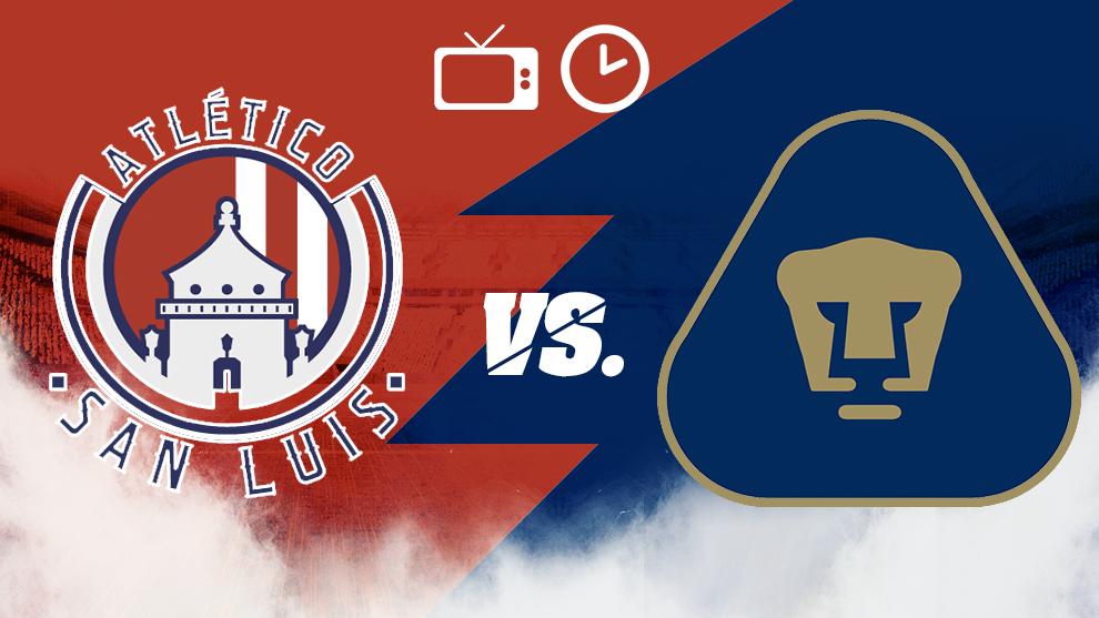 Atlético de San Luis vs Pumas, horario y dónde ver