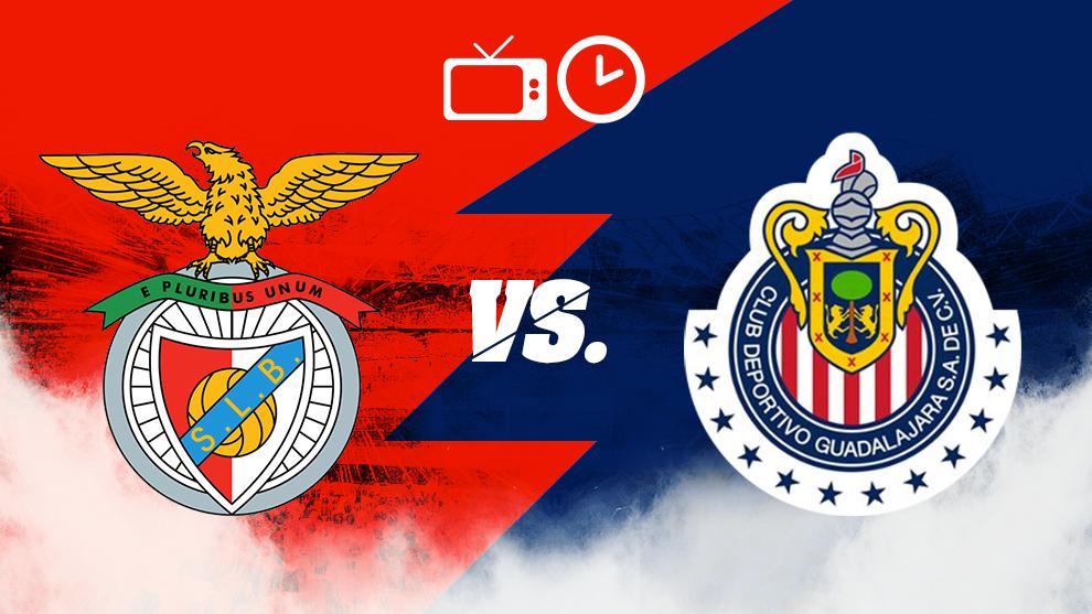 Benfica vs Chivas, horario y dónde ver