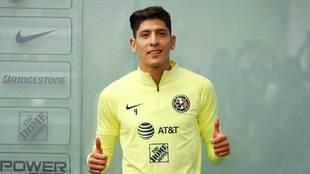 Edson Álvarez se despidió de las Águilas