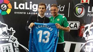 Joaquín, con Casillas