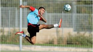 Correa in training.