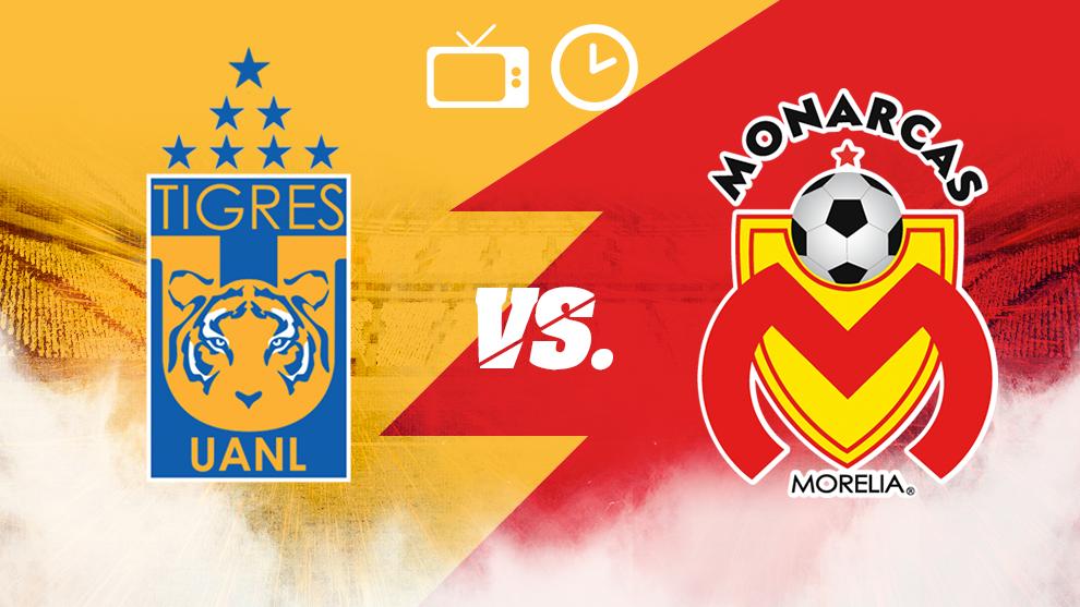 Tigres vs Morelia: Horario y dónde ver.