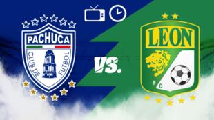 Pachuca vs León: Horario y dónde ver