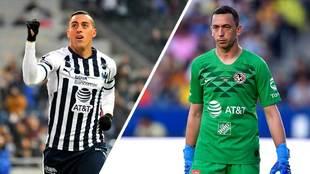 Rogelio Funes Mori y Agustín Marchesín