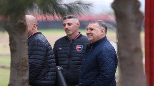 Tata Martino en las instalaciones del Newell?s Old Boys