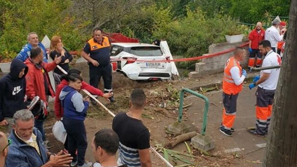 El  Rallye Ciudad de La Laguna se llena de muerte
