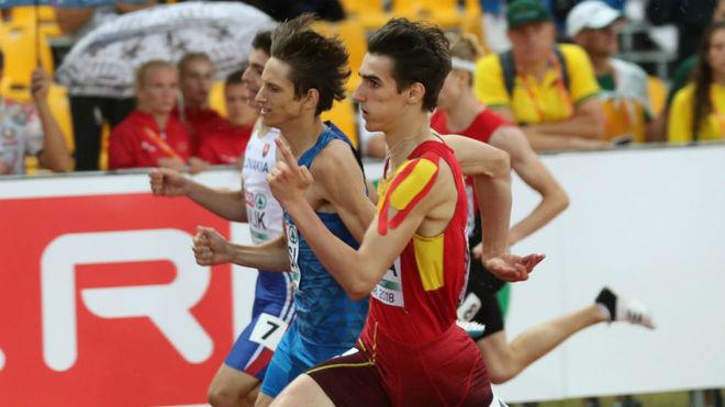 Bernat Erta, en competición