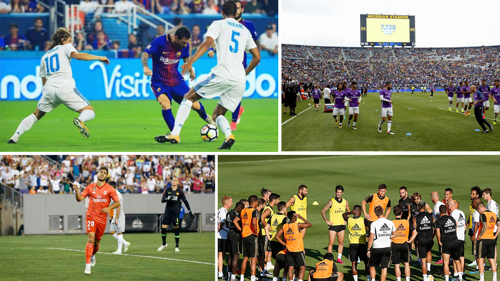 Some of Madrid's past visits to the United States.