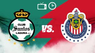 Santos vs Chivas: Horario y dónde ver
