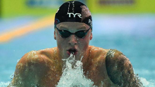 Adam Peaty, camino de su récord mundial