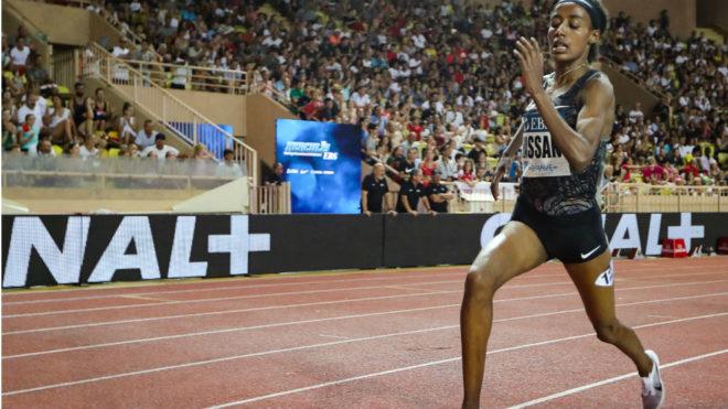 Hassan, en carrera
