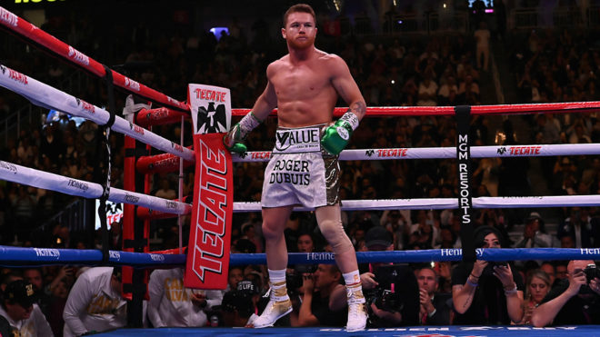 Canelo volvería al ring en diciembre.