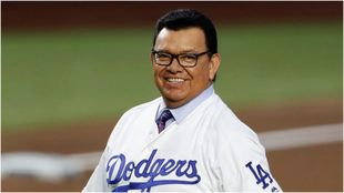 Fernando Valenzuela, expelotero de los Dodgers.